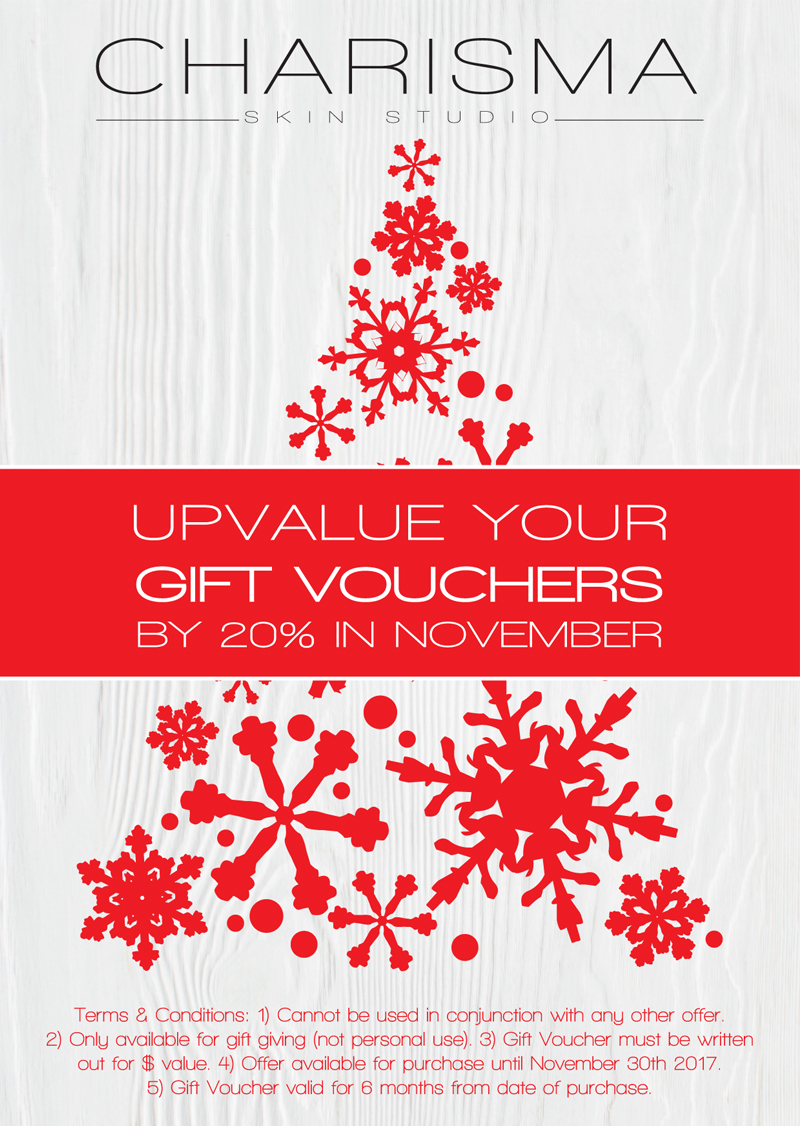 Upvalue your gift vouchers